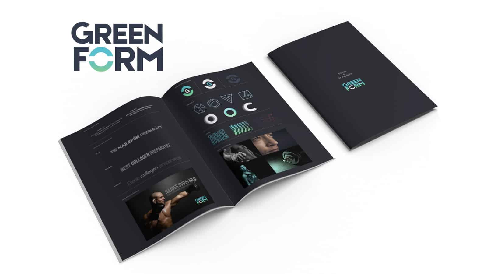 YNK media - Branding - Green Form